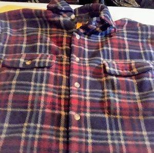 DUCKHEAD Vintage L red flannel hunting jacket
